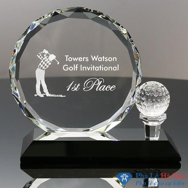 Biểu trưng pha lê golf 1