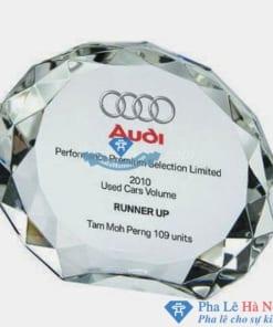Chặn giâý pha lê hãng ô tô Audi