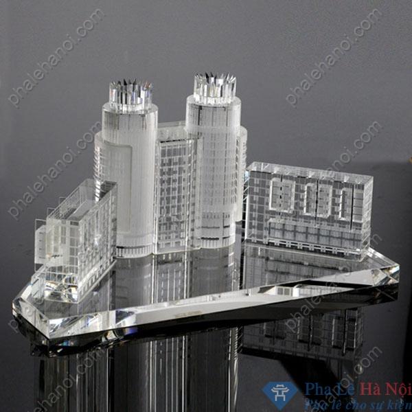 Pha lê mô hình tòa nhà 1