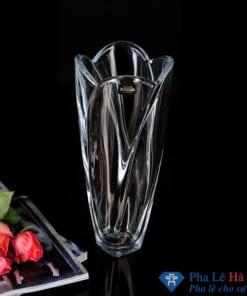 Lọ hoa pha lê tulip