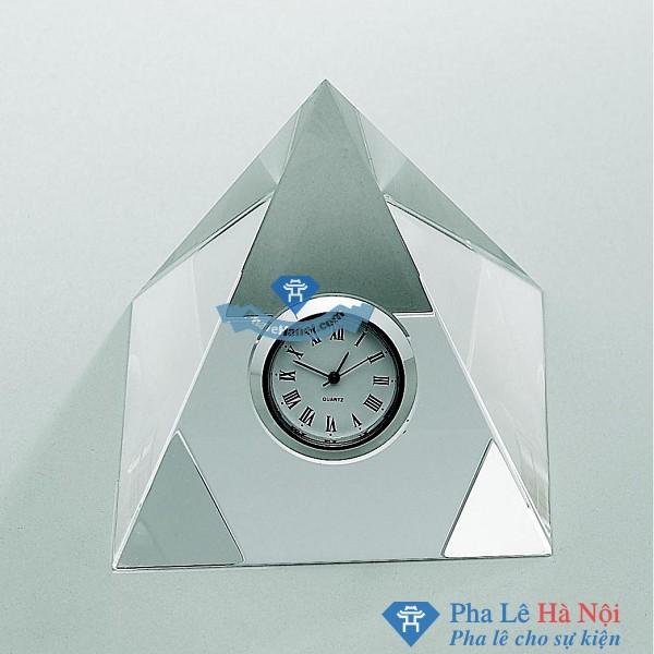 Đồng hồ pha lê Kim tự tháp