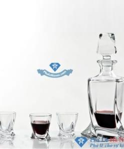 Bình Đựng Rượu Pha Lê 01