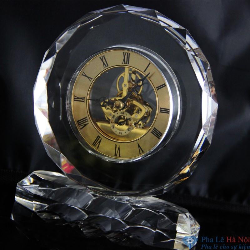 Crystal decorative clock 3 - Đồng Hồ Pha Lê  24