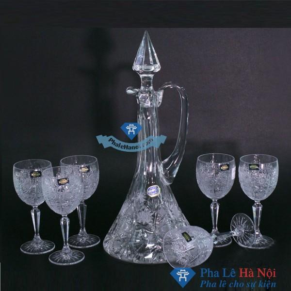 Bộ Bình Đựng Rượu Pha Lê 09