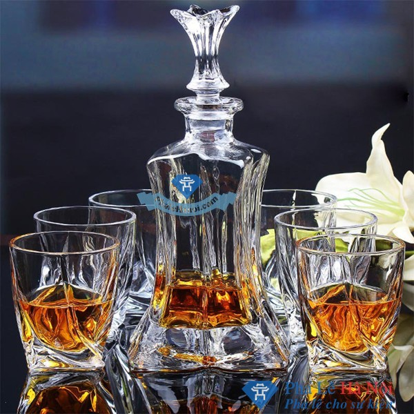 Free shipping font b set b font of 2pcs fashionable lead free crystal manmade whisky font - Trang chủ
