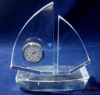Dh6 - Đồng hồ pha lê cánh buồm