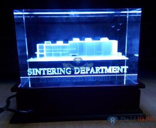Khoi3D - Pha lê 3D SINTERING DEPARTMENT