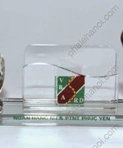 PhaledebanPLDB30 247x296 - Bộ pha lê để bàn đồng hồ để name card