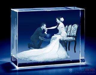 anh cac loai9 - Ảnh cưới  pha lê 3D