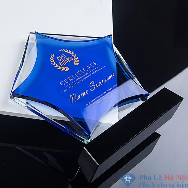 O1CN011D9Gy43O0tQ3BL6 2210910173 - Kỷ niệm chương pha lê ngôi sao xanh