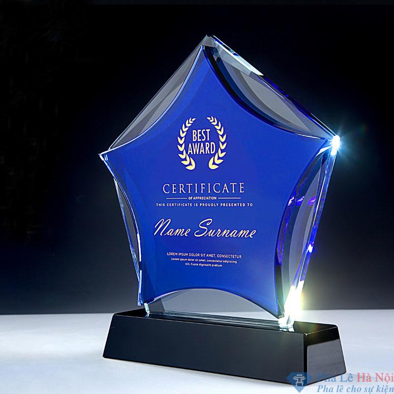 O1CN011D9GyZ6xj8x6GBS 2210910173 - Kỷ niệm chương pha lê ngôi sao xanh