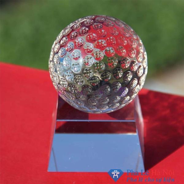 Cúp pha lê thể thao golf