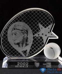 Kỷ niệm chương pha lê thể thao tennis