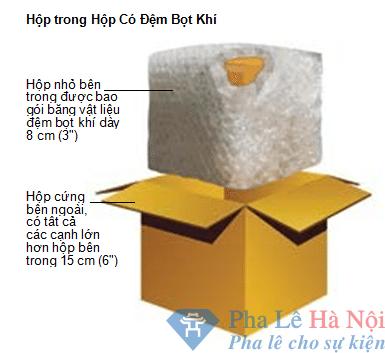 huong dan chung ve dong goi hang hoa tai vietair cargo 4 - Kỷ niệm chương pha lê hình gậy golf kèm người vàng