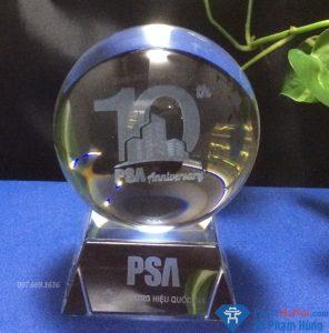 Quả cầu pha lê 3D bắn kỷ niệm 10 năm PSA