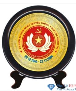 Kỷ niệm chương pha lê gỗ đồng 8