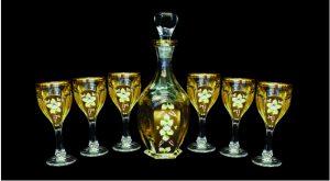 bo binh ly pha le cao cap 1 300x165 - Bộ bình rượu pha lê – Quà tặng pha lê ý nghĩa