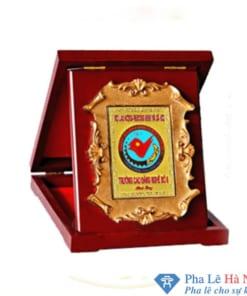 Kỷ niệm chương gỗ đồng 12