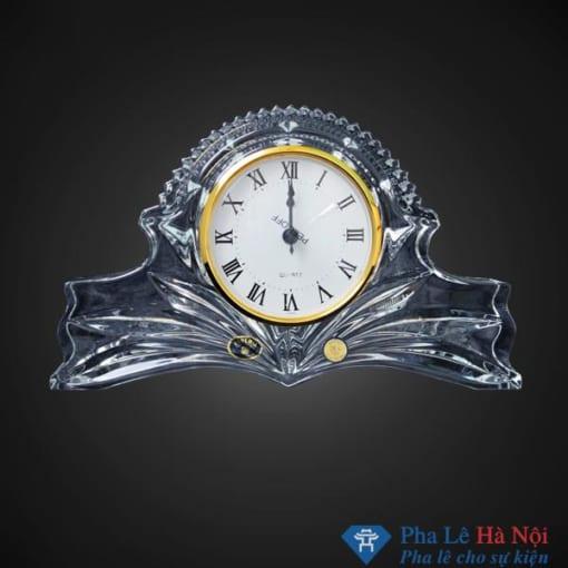 Đồng hồ pha lê tiệp để bàn số 12