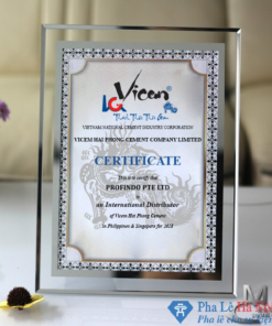 Kỷ niệm chương vinh danh Xi măng Hải Phòng - Vicen Hai Phong