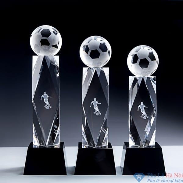 Bộ cúp pha lê thể thao bóng đá số 28