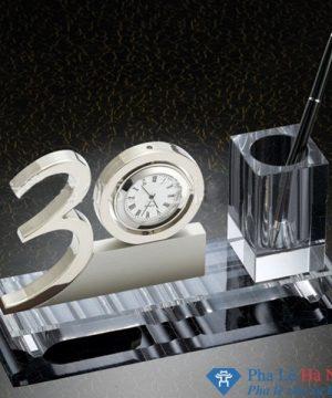 bộ số pha lê 3 - Món quà kỷ niệm độc đáo với bộ số pha lê