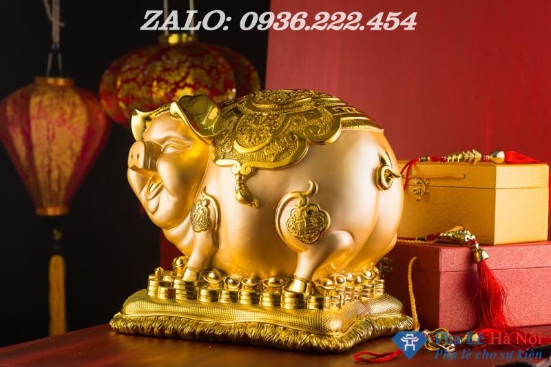 e5ff41437333906dc922 - Heo vàng tiết kiệm mạ vàng 24k số 1