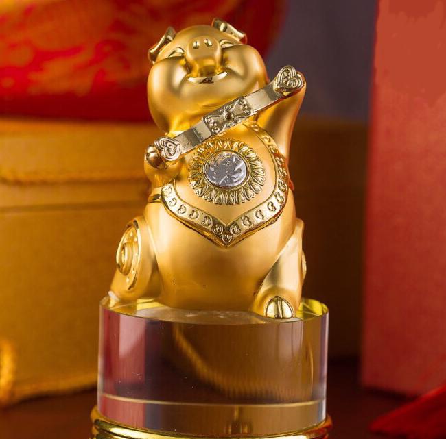 1 2 - Rước Tượng Heo Vàng, Rinh Rang Tài Lộc