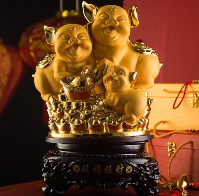 2 2 - Rước Tượng Heo Vàng, Rinh Rang Tài Lộc