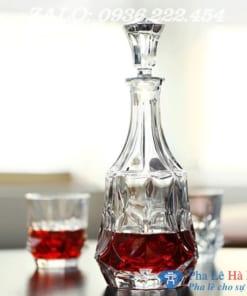 Bộ bình rượu pha lê số 35