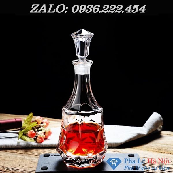 56e4f4b09eb07dee24a1 - Bộ bình rượu pha lê số 35