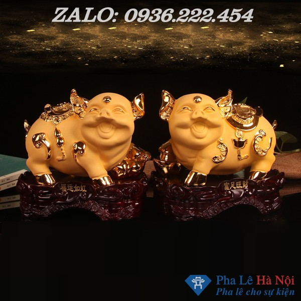 59e6238eN62594e07 - Heo vàng tiết kiệm mạ vàng 24k số 2