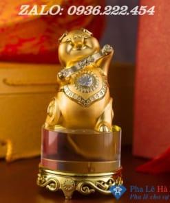 Linh vật lợn mạ vàng phong thuỷ 2019 số 2