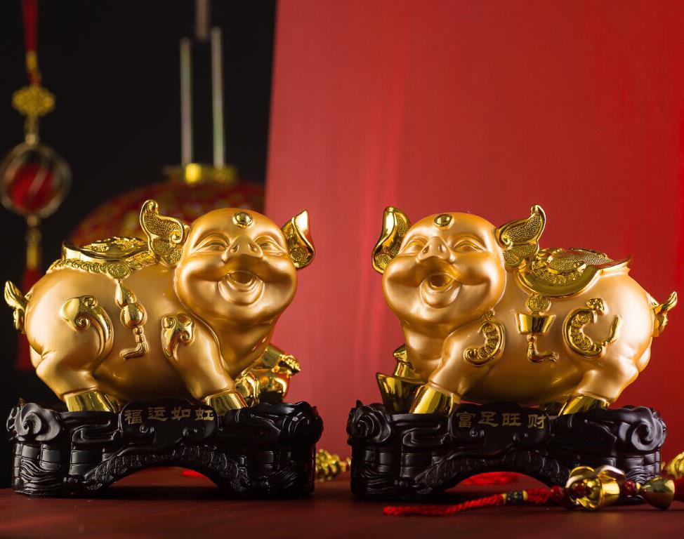 heo1 - Rước Tượng Heo Vàng, Rinh Rang Tài Lộc