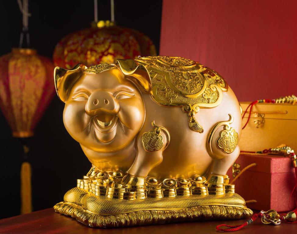 heo2 - Rước Tượng Heo Vàng, Rinh Rang Tài Lộc