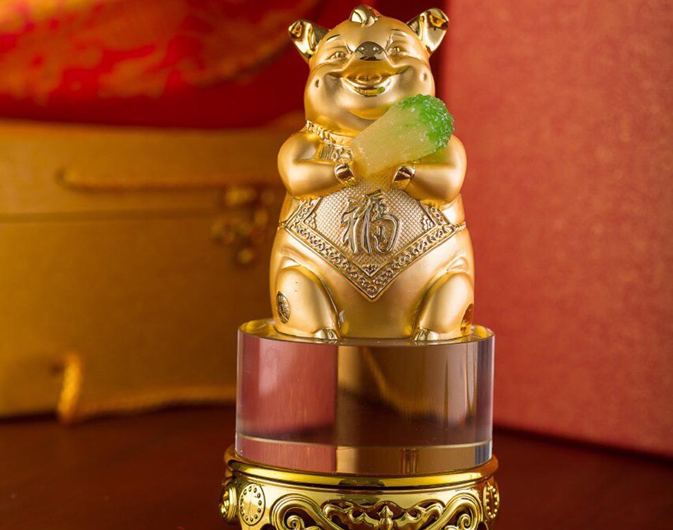 heo4 - Rước Tượng Heo Vàng, Rinh Rang Tài Lộc