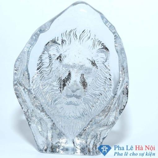 pha lê mặt sư tử 1 - Ý nghĩa hàm ẩn trong khối pha lê mặt sư tử