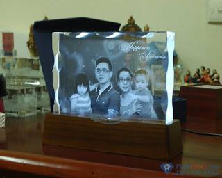 quà tặng pha lê 14 - Quà tặng pha lê độc đáo, sáng tạo in ảnh lên pha lê 3D