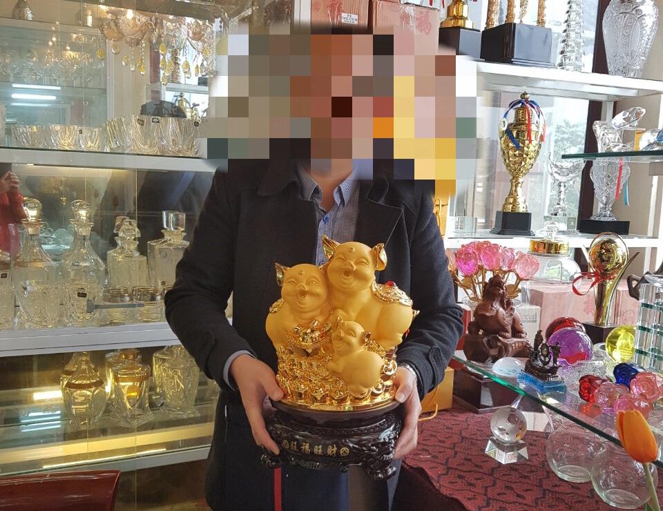 4 - Rước Tượng Heo Vàng, Rinh Rang Tài Lộc