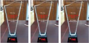 b3e44647785b9a05c34a 300x145 - Cúp vinh danh pha lê mài vát , cạnh sần , Cung cấp cho công ty TNG 15 cup pha lê vát , cạnh sần ngày 01/03/2018