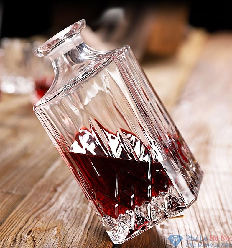 bo binh ruou 1.1 1 - Bộ bình rượu pha lê số 34