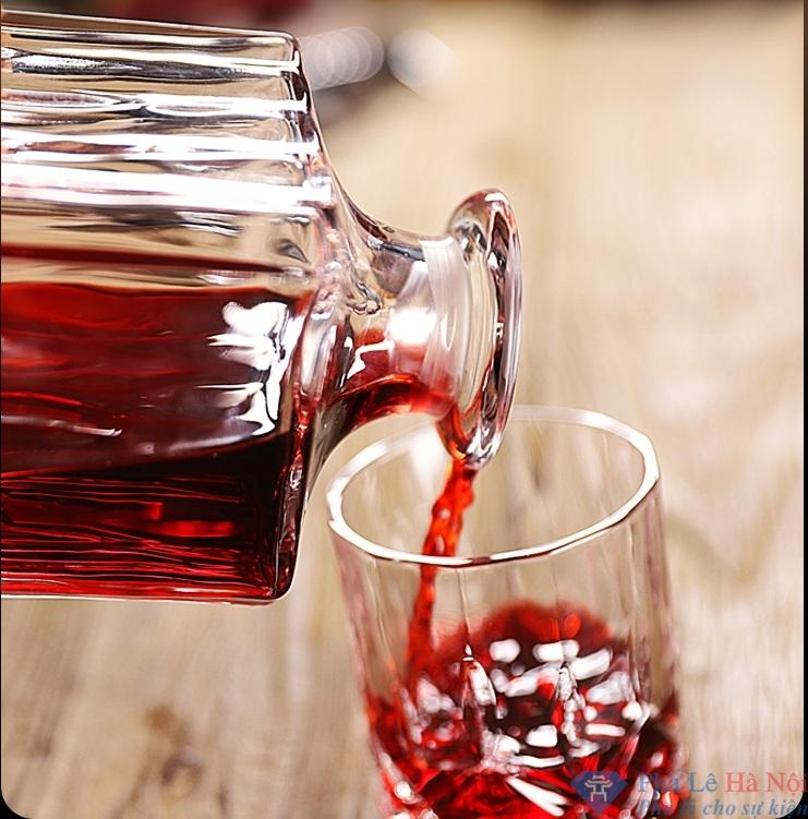 bo binh ruou 1.3 1 - Bộ bình rượu pha lê số 34