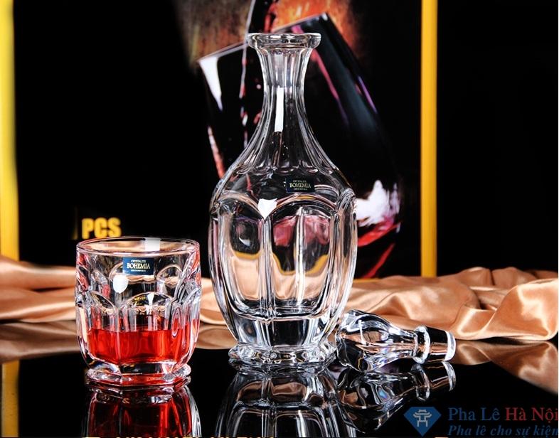 bo binh ruou 4.2 - Bộ bình rượu pha lê 15