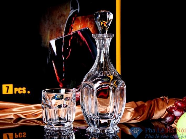 Bình đựng rượu pha lê 15