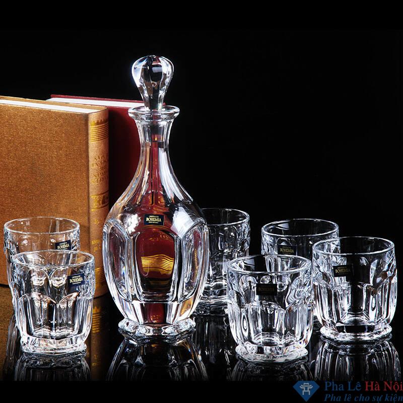 Bộ bình rượu pha lê 15