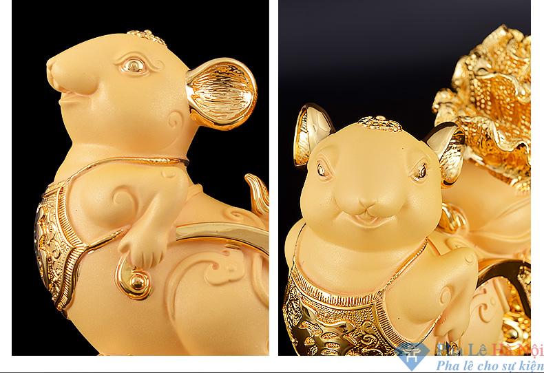 linh vat 2.2 - Linh vật Chuột vàng số 2