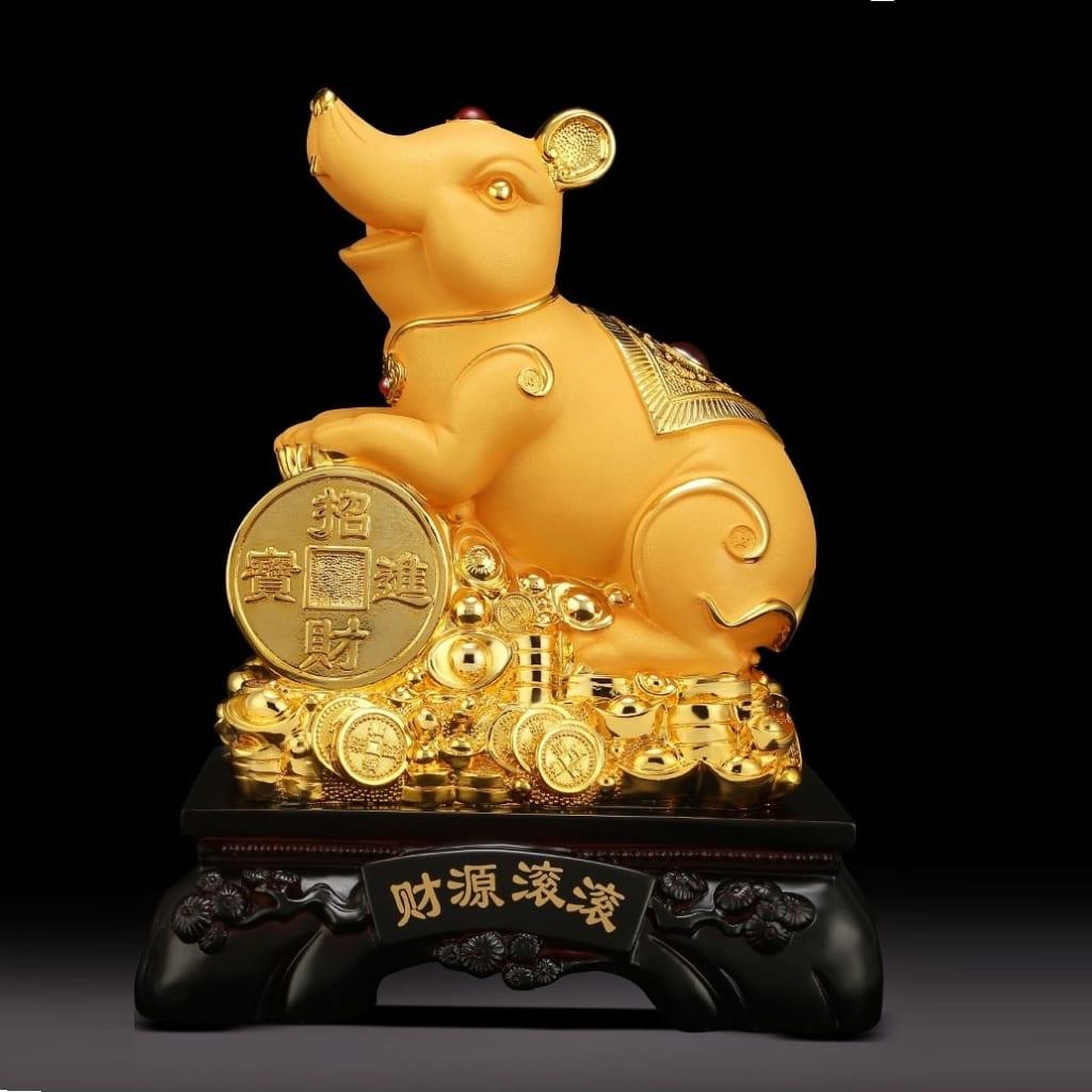 Linh vật Chuột Vàng số 8