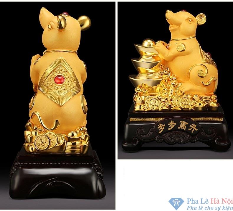 linh vat 9.1 - Linh vật Chuột Vàng số 9