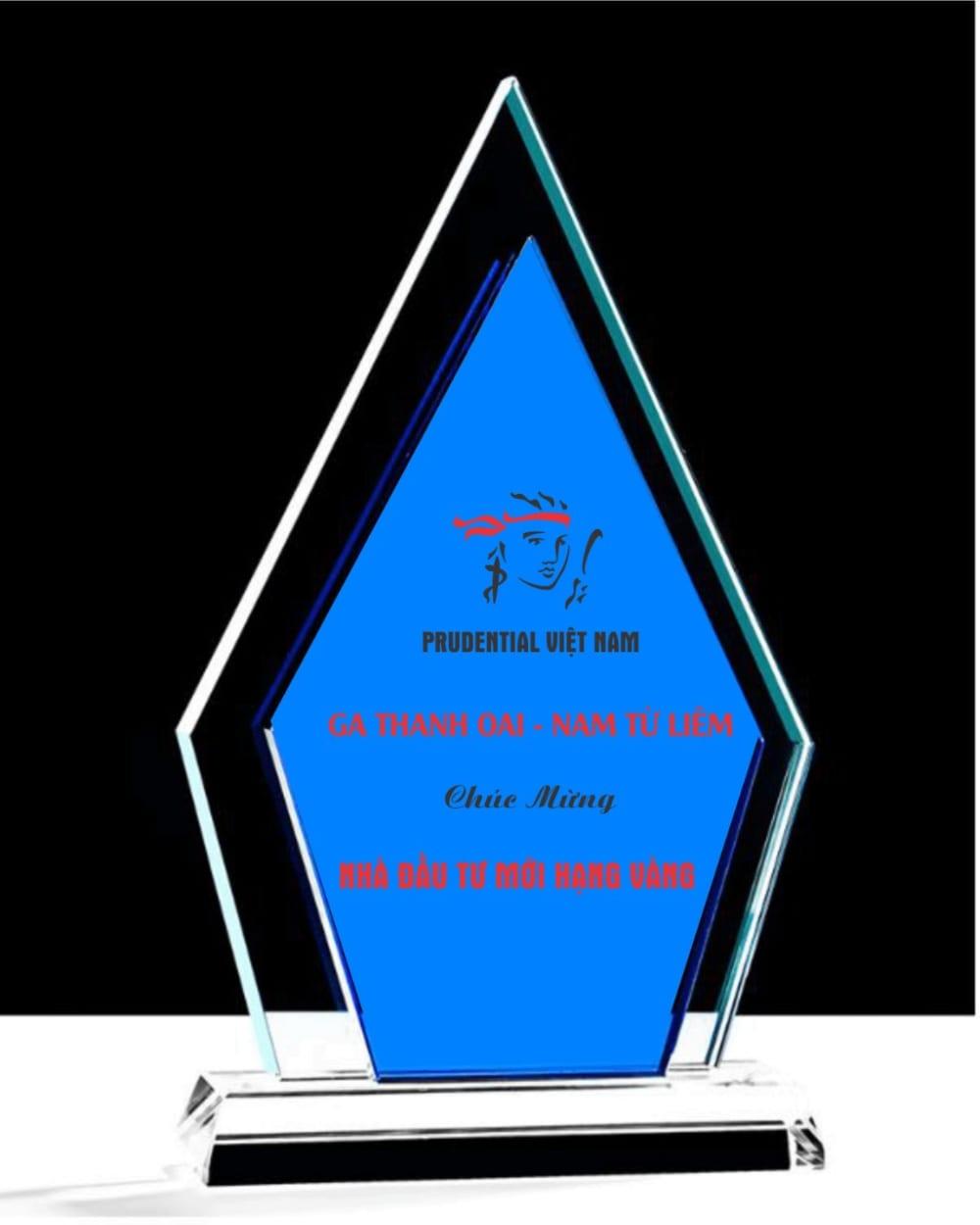 Kỷ niệm chương pha lê 117