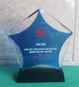 Kỷ niệm chương Chi Bộ Quận Hai Bà Trưng